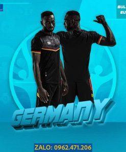Áo Bóng Đá Euro 2021 Tuyển Đức Màu Đen Độc Đáo