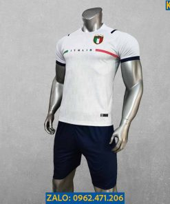 Áo Bóng Đá Tuyển Ý 2021 Màu Trắng