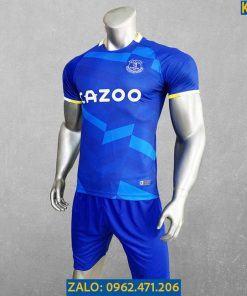 Áo Everton 2021 - 2022 Sân Nhà Màu Xanh Bích
