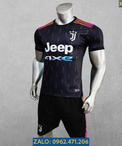 Áo Juventus 2021 - 2022 Màu Đen Thi Đấu Sân Khách