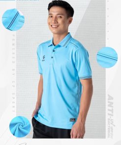 Áo Polo UV Egan 03 Màu Xanh Biển Đẹp Mê