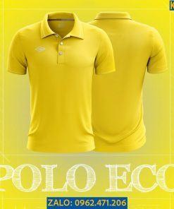 Áo Polo Thể Thao Eco Màu Vàng 2021 Nổi Bật