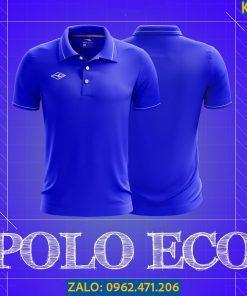 Áo Polo Thể Thao Eco Màu Xanh Bích 2021